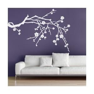 branche d'arbre fleurie